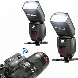 2PCS PIXEL M8 LCD Wireless Flash Speedlite + PIXEL TF361 Flash Trigger Transmitter For Canon 1100D 750D 650D 600D 550D DSLR Cameras