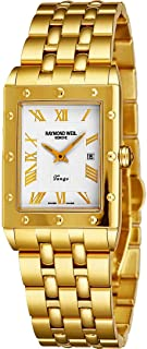electroplated gold watch