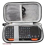 Aproca Dur Voyage Étui de Rigide Housse pour Fosmon Mini Clavier sans Fil Bluetooth/Luxtude PowerEasy Batterie Externe iPhone Power Bank Ultra Slim 5000mAh