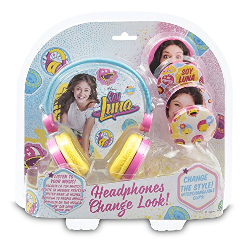 Soy Luna - Auriculares con Clips Deco Intercambiables (Giochi Preziosi YLU48000)