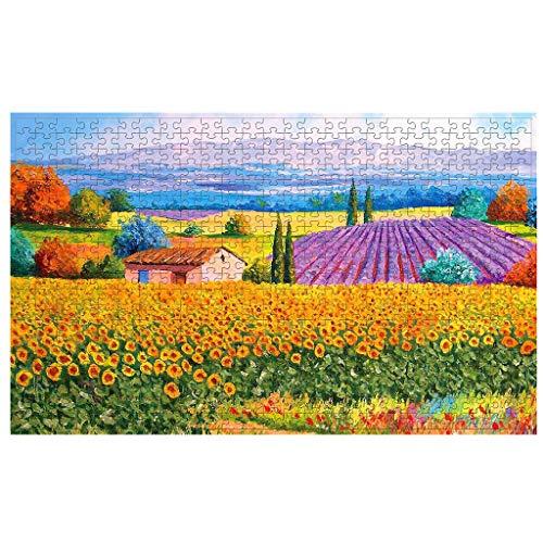 Puzzle 500 Piezas,Rompecabezas Adultos, Puzzle Rompecabezas Regalo para Niños y Adultos Paisaje Puzzle Decoración Hogareña (I)