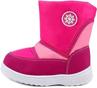 LONSOEN Boys KDB028 Kids Snow Boots