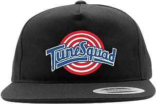 Black Snapback Space Jam Tune Squad Logo Hat