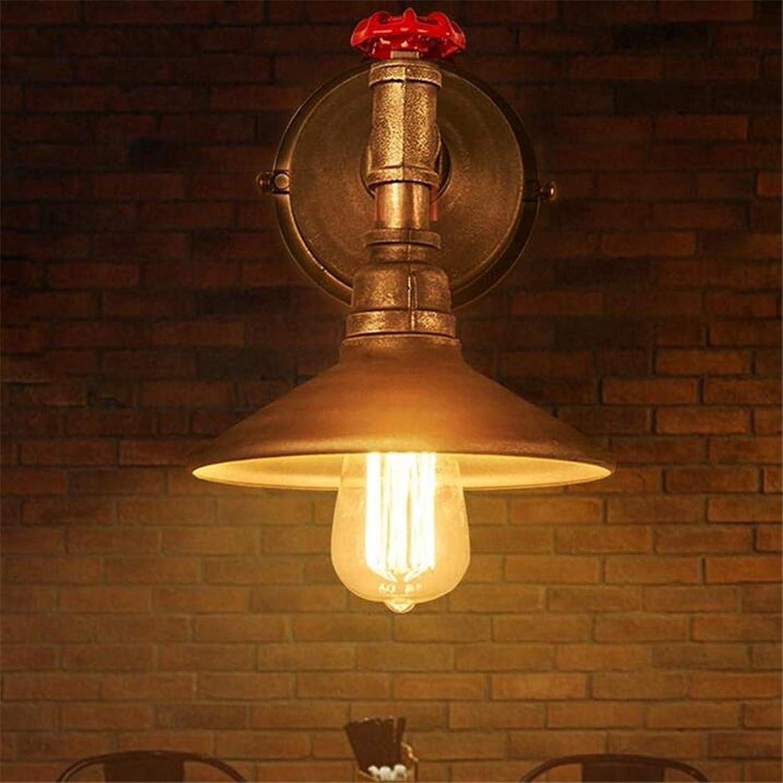 Wandleuchte Rohrleuchten Antique Single-Head Metall Aisle Corridor Cafe Edison-Leuchter E27 Halter 110-240 Kronleuchter Lightings