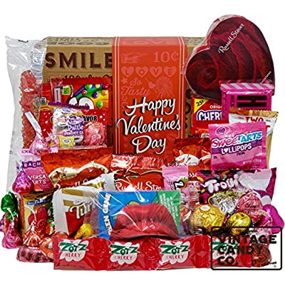 VALENTINES CANDY CARE PACKAGE LOADED GIFT BOX F...