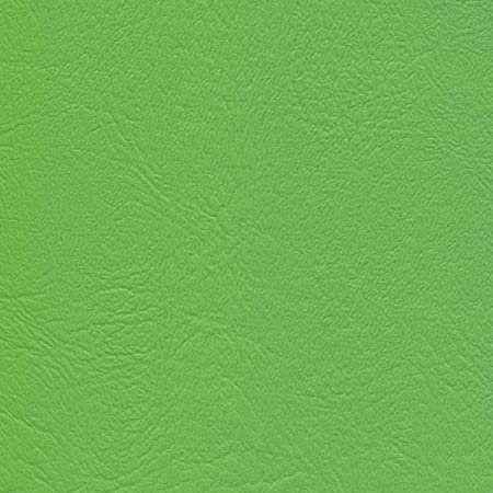 Lime Green Contract commercial Marine grade upholstery vinyls Faux Leather fabric per yard