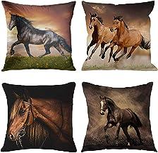 Amazon Com Horse Throw Pillows