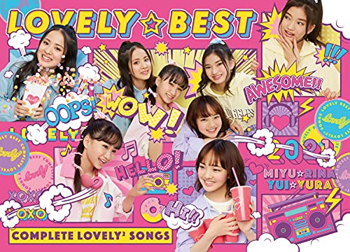 【Amazon.co.jp限定】LOVELY☆BEST - Complete lovely² Songs - (初回生産限定盤) (メガジャケ付)