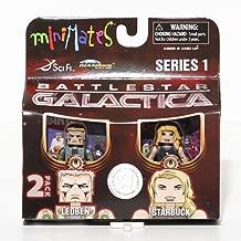 Battlestar Galactica Minimates 2-Pack Leoben and Starbuck Exclusive