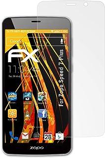 atFoliX Skärmskydd är kompatibel med Zopo Speed 7 Plus Skyddsfilm, antireflekterande och stötdämpande FX Film (3X)