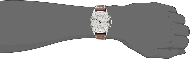 Victorinox Mens 241598 AirBoss Analog Display Swiss Automatic Brown Watch
