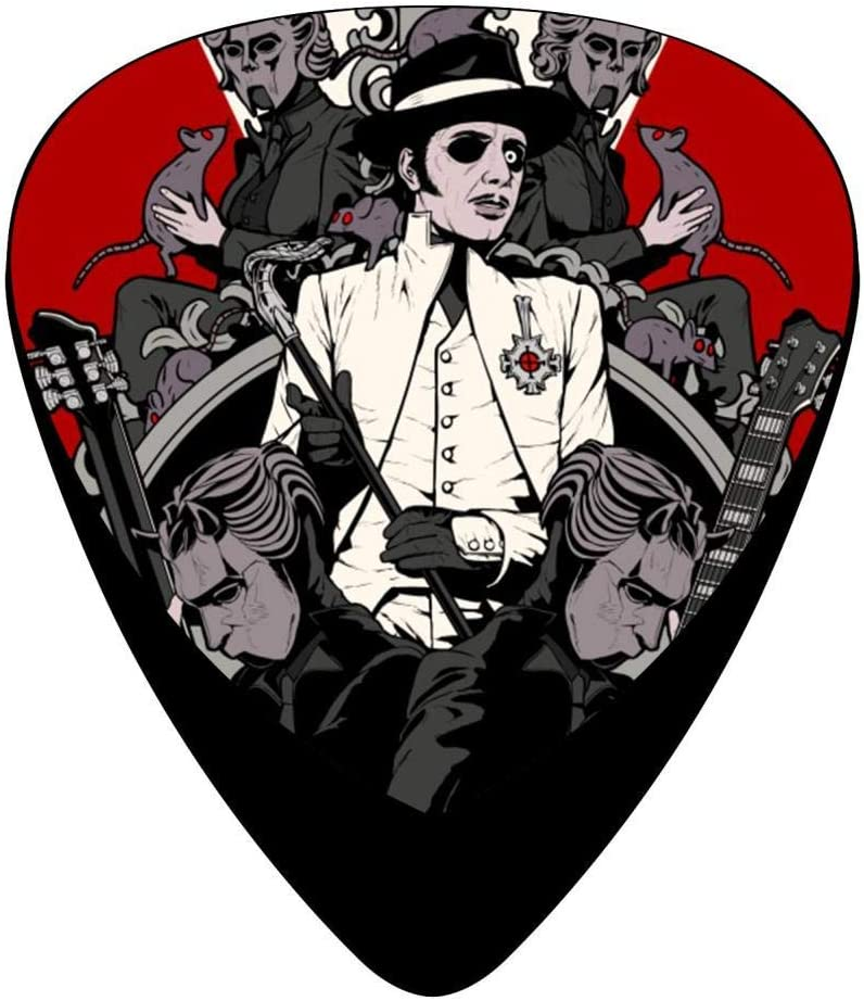 shop Ghost Music Band Celluloid Plectrums Store Customized Guitar P 12-Pack