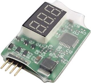 X-DREE LED Display 2S-3S Lipo Battery DC Voltage Indicator Monitor Green (6b90c655-a222-11e9-8d7c-4cedfbbbda4e)