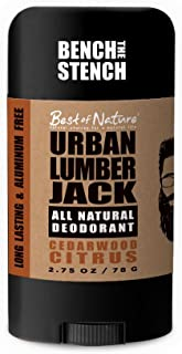 Best of Nature's Urban Lumberjack All Natural Deodorant - Cedarwood Citrus
