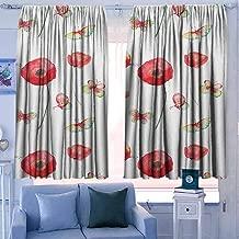 Print Pattern Curtains 42