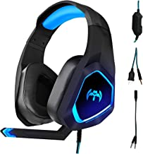 PS4 Gaming Headset,Headset for PC Xbox One PS4 PS Vita,...