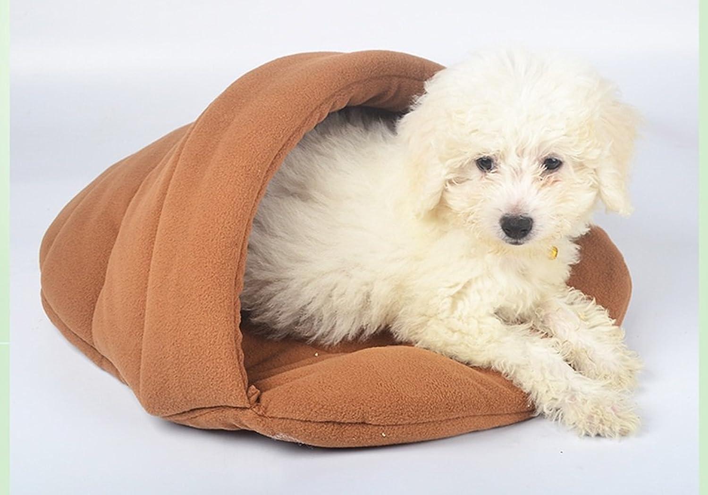 %Pet Bed Cat Litter Winter Warm Cat Sleeping Bag Dog Nest Pet Nest Mat Autumn and Winter Mini Cat SuppliesX41 Pet Supplies (color   3)