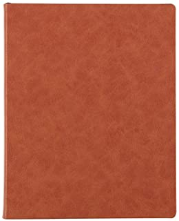 Erin Condren 12 Month Undated Softbound Focused Planner 8x10 - Features a Camel Colored Cover, Layflat Design, College Rul...