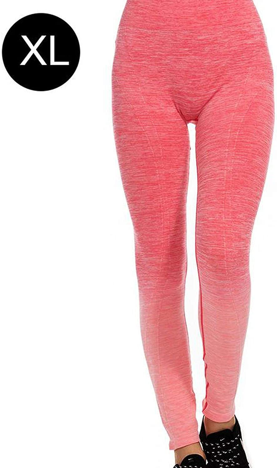 It's a big deal New Gradient nging Dyed Yoga Pants Comfortable Slimming Large Size Work Out Fitness Trousers