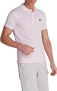 Lyle and Scott Mens Plain Polo Shirt - Burgundy