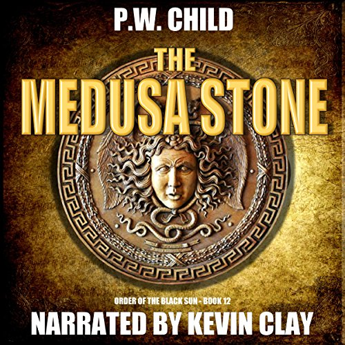 The Medusa Stone audiobook cover art