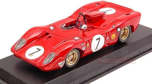 ordene ahora los precios más bajos Best Model BT9672 Ferrari 312 P Spyder Spyder Spyder N.7 DNF 1000 KM 1969 C.Amon-P.Rodriguez Compatible con  moda