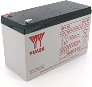 EnerSys NP7-12T 12V 7Ah F2 Sealed Lead Acid Battery