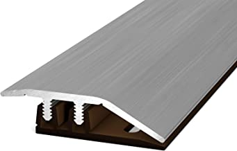 para alturas de 4,0-7,5 mm, acero inoxidable cepillado Perfil de ajuste Prinz Profi-Design 323