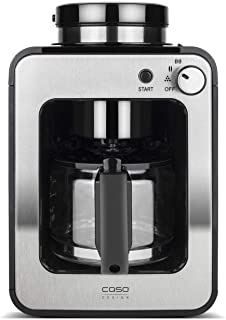 Caso Coffee Compact Design Öğütücü, 4 Fincana Kadar Kahve İçin, Önceden Öğütülmüş Kahve Tozları İçin De Uygundur, Demleme ...