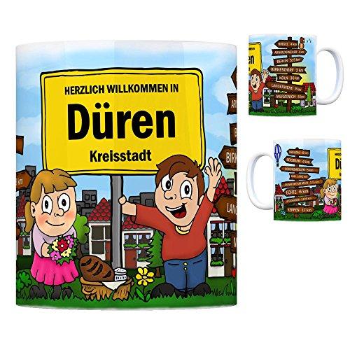 trendaffe - Herzlich Willkommen in Düren Rheinland Kaffeebecher