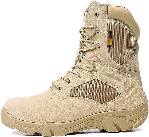 WEGCJU Die Chukka Chelsea Desert Stiefel Von Martin Stiefel Für Herren Tragen Rutschfeste Und Wasserdichte Wanderschuhe