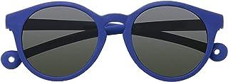 PARAFINA TRADEMARK - PARAFINA Ballena Gafas de Sol para Niño y Niña con Lentes Verdes y Protección UV400 (no polarizado), Resistentes al Agua y Flexibles, Montura Eco-Friendly color Azul