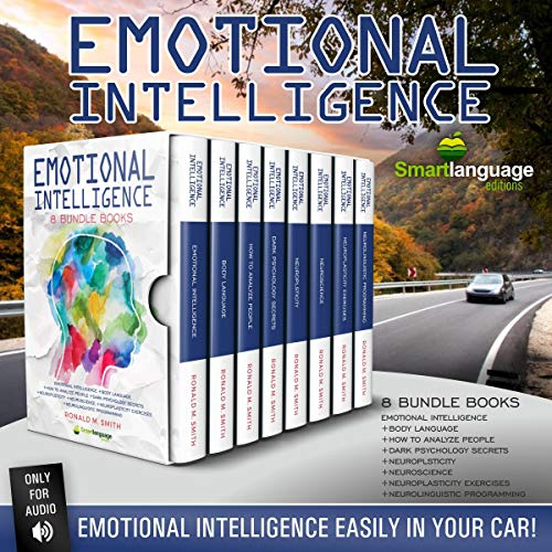 Page de couverture de Emotional Intelligence 8 Books in 1
