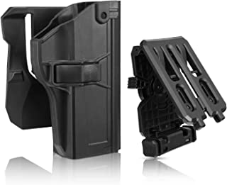 efluky Beretta PX4 Storm Holster Fits Beretta PX4 Storm Full Size, Tactical Outside Waistband Paddle Belt Holster with 360°Adjustable Cant, OWB Carry, RH