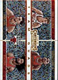 2019-20 NBA Contenders Team Quads #5 Zach LaVine/Lauri Markkanen/Wendell Carter Jr./Coby White Chicago Bulls Official Panini Basketball Trading Card from Hobby (Scan streaks are Not on the Card Itself)