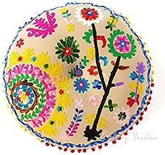 VECDY Nouveaux Produits Mode Estivale Doux Et Confortables Grand Mandala Coussins De Sol Housse De Coussin De M/éditation Ronde Boh/ème Pouf