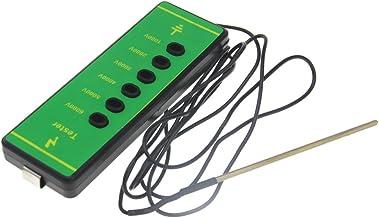 Elektronische voltmeter voor digitale hekken, ABS, meetstroom: 1000 V tot 6000 V.