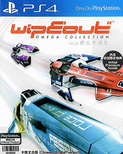 (PS4)WipEout: Omega Collection(中英文合版) Chinese + Englesh