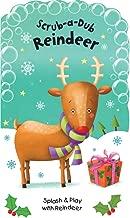 Scrub-a-Dub Reindeer: Bath Mitt and Bath Book Set (Scrub-a-Dub Bath Mitt and Bath Book Sets)