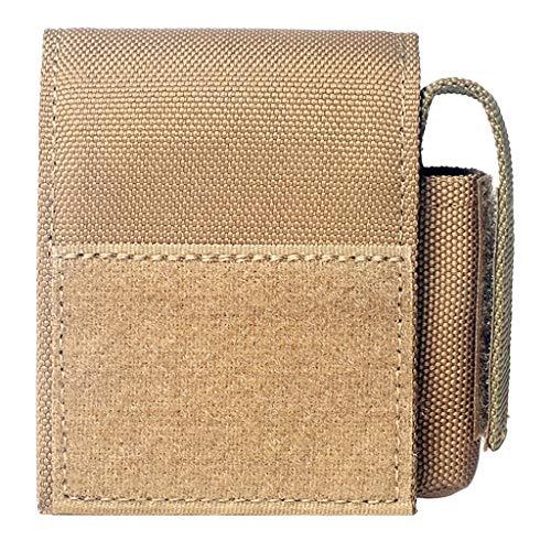 Perfeclan Molle Gürteltasche Handy Tasche Wasserdicht Bauchtasche Hüfttasche mit 2 Tasche - Schlamm