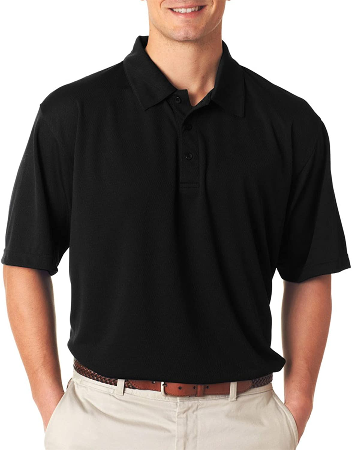 UltraClub Men's Performance Polo Shirt ( Pack of 12 )