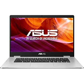 "ASUS Chromebook Z1500CN-EJ0165 - Ordenador portátil de 15.6"" FullHD (Intel Pentium N4200, 8GB RAM, 64GB EMMC, Intel HD Graphics 505, Chrome OS) Plata - Teclado QWERTY Español (Reacondicionado)"