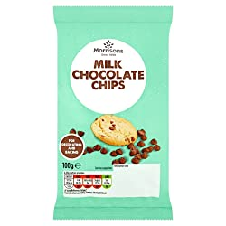 Morrisons Milk Chocolate Chips, 100g