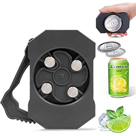 New Upgrade Can Top Remover Cutter,Can Lid Remover,Ez Drink Opener,Top Can Remover,Topless Can Opener,Easy Drink Buddy Openers for Household Kitchen,Bar,Picnic,Party.