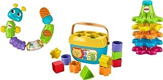 Fisher-Price Sort, Snap & Spin Trío de juguete infantil