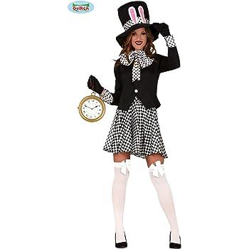 Guirca Disfraz de Sombrerera Loca para Mujer: Amazon.es: Juguetes ...