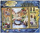 Ravensburger Malen nach Zahlen 28914 - Verträumtes Venedig - Perfektes Malergebnis durch hochwertiges Künstlerzubehör, ohne Rahmen