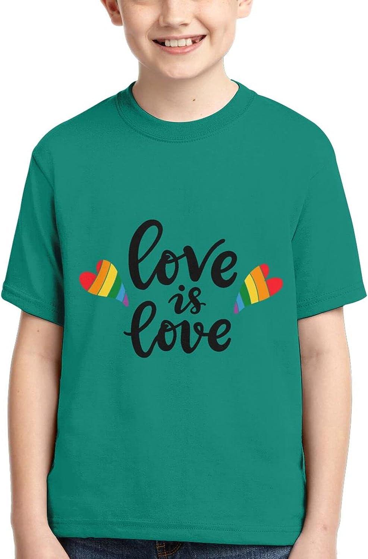 Love is Love Boys 3D Children Tshirt Clothing Soft Casual