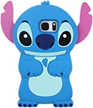 BatKing Cute Alien Dog Case for Samsung Galaxy S7 Edge,3D Cartoon Animal Silicone Rubber Protective Kawaii Funny Character Cover,Animated Fun Cool Skin Case for Kids Teens Girls Guys