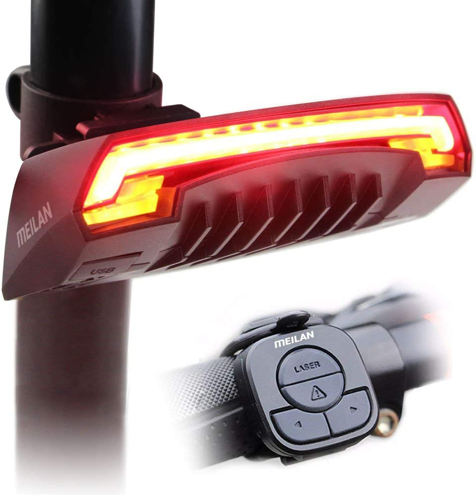 MEILAN X5 Smart Bike Tail Light Signals with In a popularity Turn Brand new Automatic and